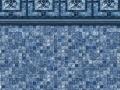 Vintage Mosaic Blue